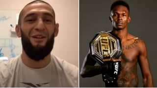 "UFC Star Khamzat Chimaev Fires Back At Israel Adesanya For ""Rat Lip"" Comment"