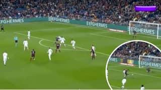 Denis Suarez Provides Beautiful Assist For Celta Vigo Equaliser Against Real Madrid