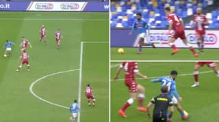 Lorenzo Insigne Has Just Single-Handedly Destroyed Fiorentina With The Most Outrageous Assist