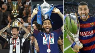 Dani Alves Turns 37 Today And He Still Has More Trophies Than Years On This Planet