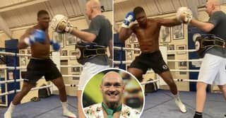 Anthony Joshua Mocked For Training Video As Fans Say Tyson Fury Will Destroy Him