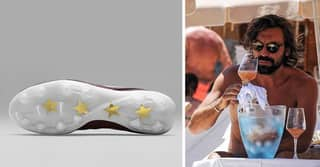 Nike Design Wine Inspired Football Boots For Andrea Pirlo