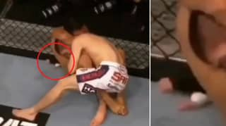 Rafael Dos Anjos Posts Rare Footage Of Khabib Nurmagomedov 'Snoring' After Choke In 2014 Fight