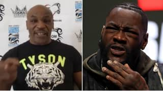 "Mike Tyson Tells Deontay Wilder To ""Get His Head Out Of His Butt"" For Making Excuses"