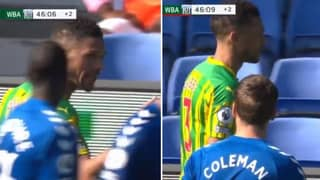 """Kieran Gibbs Threatened To """"F**king Do It Again"""" After Red Card"""