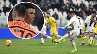 Cristiano Ronaldo 'Refused To Swap Shirts' With Goalkeeper Who Saved His Penalty