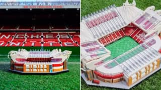 LEGO's 3898-Piece Set Of Old Trafford Could Be The Perfect Way To Pass The Time In Lockdown