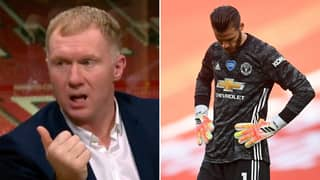 Manchester United Legend Paul Scholes Gives His Verdict On David De Gea's Future