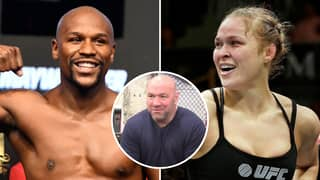 Dana White Claims Ronda Rousey Would 'Hurt' Floyd Mayweather 'Badly' In A Street Fight
