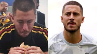 Eden Hazard Is Struggling With Quarantine Diet Plan