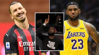 "Zlatan Ibrahimovic Tells LeBron James To ""Stay Out Of Politics"" And ""Stick To Sports"""