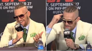 Conor McGregor's Extravagant UFC 178 Press Conference Is The Moment A Megastar Was Born