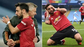 Manchester United Ruthlessly Mocked For Tweet About Bruno Fernandes After Manchester City Victory