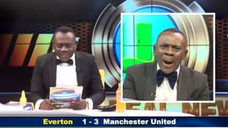 Football Fans Are Loving This Ghanaian 'Pundit' Bringing Joy With His Score Announcements