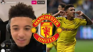 Manchester United Fans Are Convinced Jadon Sancho Dropped A Transfer Hint On Instagram