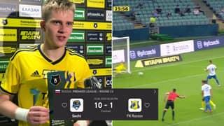 Teenage Goalkeeper Wins Man Of The Match Award After Conceding 10 Goals