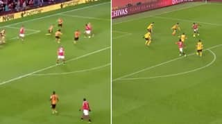 Manchester United Scored The Exact Same 93rd Minute Goal Against Wolves 10 Years Apart