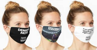 There Is A Wide Selection Of Masks For The Hardcore Football Manager Fan