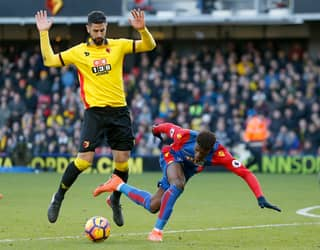 WATCH: Watford Mascot Expertly Trolls Wilfried Zaha After Palace Game
