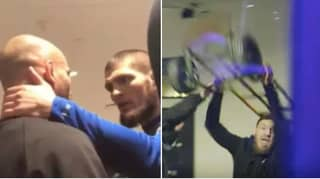 The Exact Moment Khabib Nurmagomedov And Conor McGregor's Intense Rivalry Blew Out Of Control