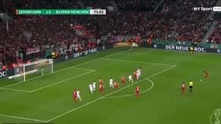 Watch: Leon Bailey Scores Sublime Free-Kick For Bayer Leverkusen