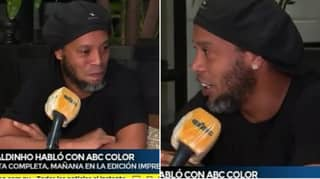 Ronaldinho Gives His First Interview Since Being Arrested In Paraguay