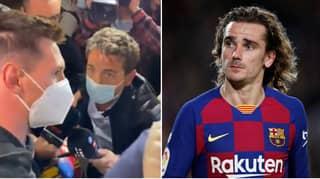 Lionel Messi Hits Back At Antoine Griezmann's Uncle's Barcelona Training Claim