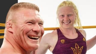 Brock Lesnar's Look-A-Like Daughter Is The Sixth Best Shot Putter In America