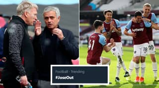 #JoseOut Trends On Twitter As Tottenham Hotspur Lose 2-1 To West Ham