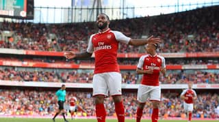 WATCH: Alexandre Lacazette Scores His First Goal At The Emirates