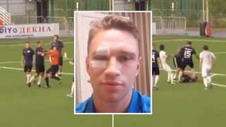 Former Russia Captain Roman Shirokov Hospitalises Amateur League Referee In Shocking Footage