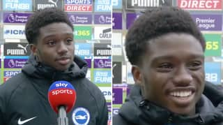 Tariq Lamptey's Post-Match Interview Proves He Is The Nicest, Most Down To Earth Guy In Football