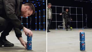 People Can't Decide If This Incredible Lionel Messi Trick Shot Is Real Or Fake