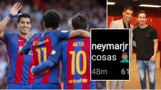 Neymar Responds To Lionel Messi Slamming Barcelona Board Over Luis Suarez Departure