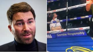 Eddie Hearn Says Boxing Judge Should Be 'Immediately Removed' For What He Was Caught Doing During Fight