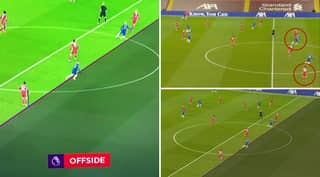 Chelsea Denied Opener Vs Liverpool After Timo Werner's Arm Is Judged Offside By VAR