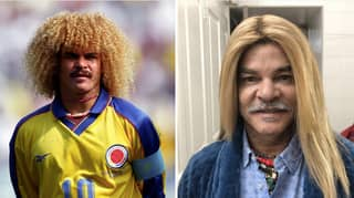 Carlos Valderrama Has Straightened His Hair And It's The Weirdest Thing Ever