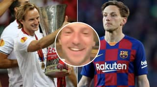 Barcelona Are Furious With Ivan Rakitic For How He Celebrated Sevilla's Europa League Win