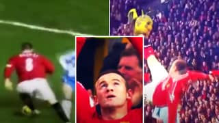 Video Showing 'Red Legend Wayne Rooney' At Manchester United Reminds You Just How Good He Was