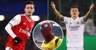 Mesut Ozil Chooses Side In Pierre-Emerick Aubameyang Vs Toni Kroos Row