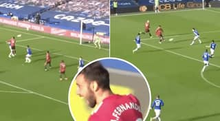 Bruno Fernandes Double Puts United 2-1 Up Against Everton