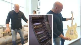 Dana White's Office At UFC Headquarters Is Absolutely Insane