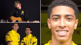 Borussia Dortmund Announce Signing Of 17-Year-Old Jude Bellingham With Hilarious Singalong Video