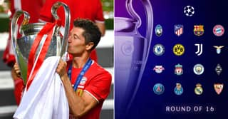 Analysis Reveals Every Team's Chance Of Winning Champions League After Last-16 Draw