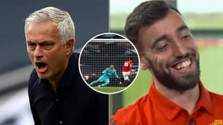 Bruno Fernandes Responded To Jose Mourinho Shade In Brilliant Fashion