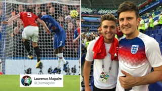 Harry Maguire's Brother Proves Manchester United Defender Predicted His Goal Vs Chelsea