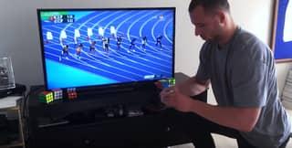 WATCH: Guy Solves Rubik's Cube Faster Than Usain Bolt Ran 100M In Rio Olympics