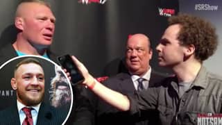 Brock Lesnar's Brutal Response When Asked If He Would Take On Conor McGregor