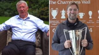 Sir Alex Ferguson Sends Brilliant Message To Jurgen Klopp For Winning Manager Of The Year