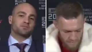 When Eddie Alvarez Defeated Conor McGregor Verbally With A Vicious Put Down